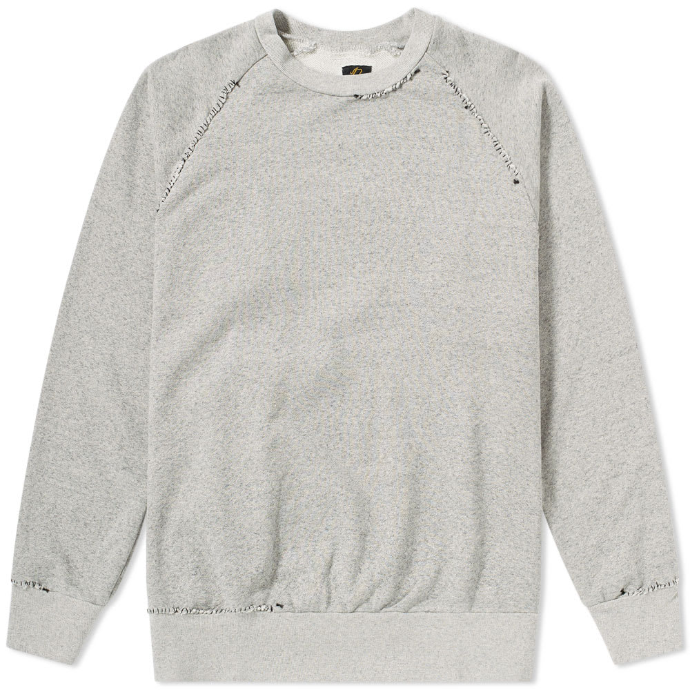 NEEDLES HAND STITCHED CREW SWEAT