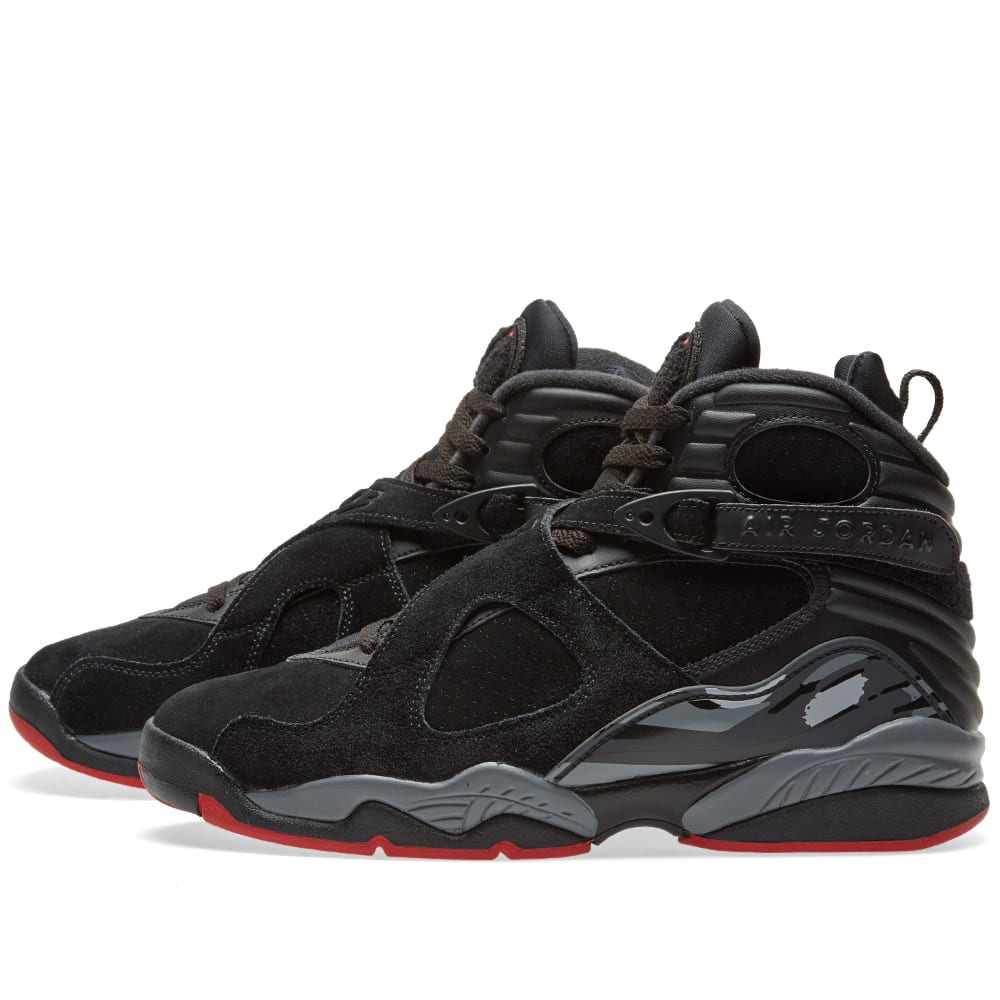 d91bd55546a7b0 Nike Air Jordan 8 Retro Black
