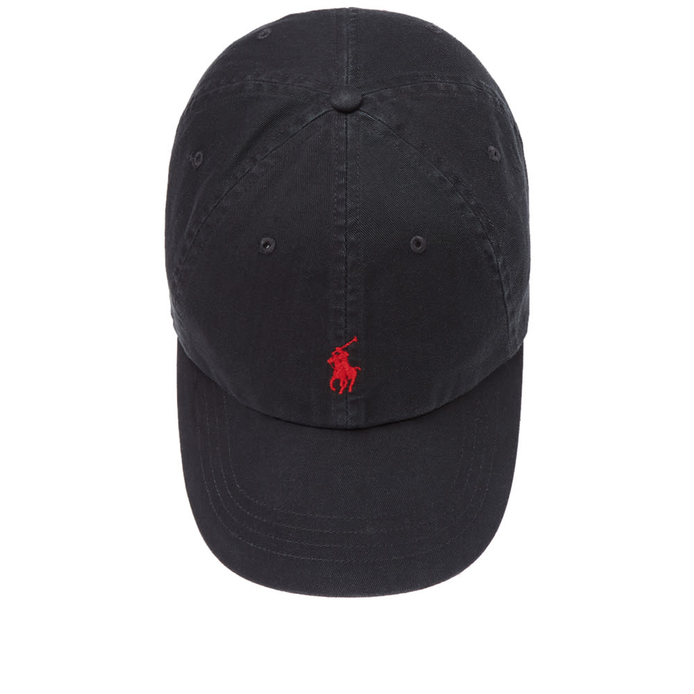 7a831247732 Polo Ralph Lauren Classic Baseball Cap Black & Red | END.