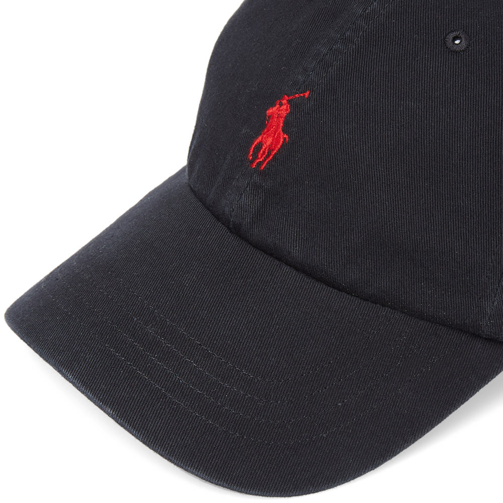 43b4c5c77 Polo Ralph Lauren Classic Baseball Cap. Black   Red