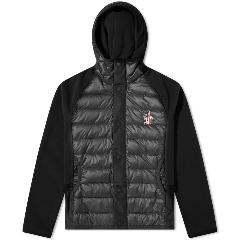 Moncler Grenoble Down Knitted Jacket