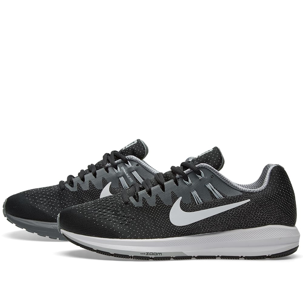 pretty nice f2502 239d1 Nike Air Zoom Structure 20 Black, White   Cool Grey   END.