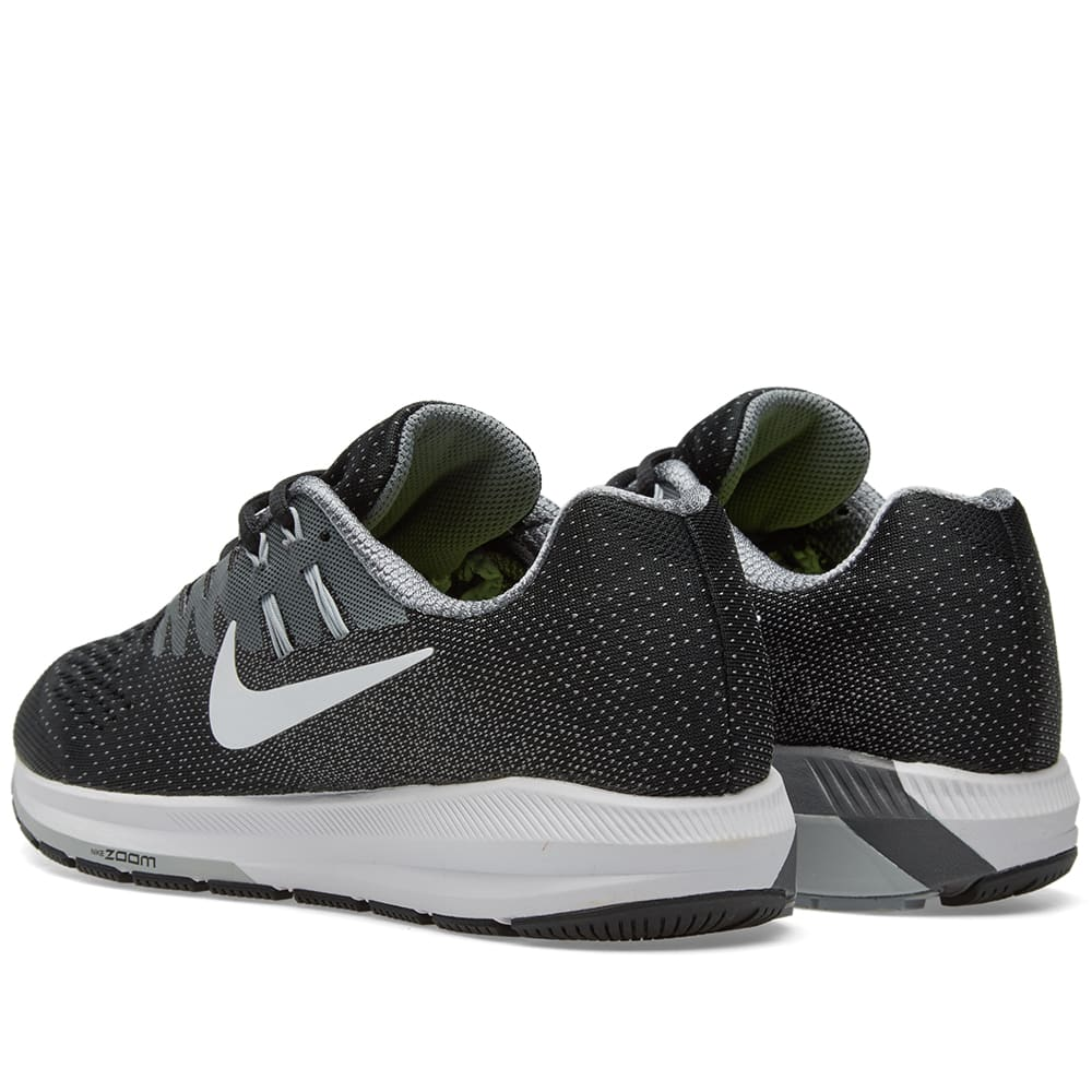 nike air zoom structure 20 black white cool grey. Black Bedroom Furniture Sets. Home Design Ideas
