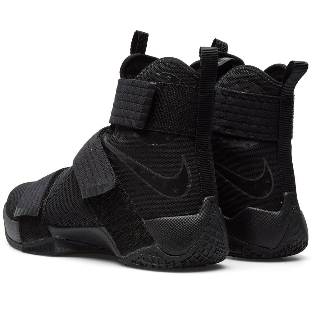 6a23a9740b9 Nike LeBron Soldier 10 Black