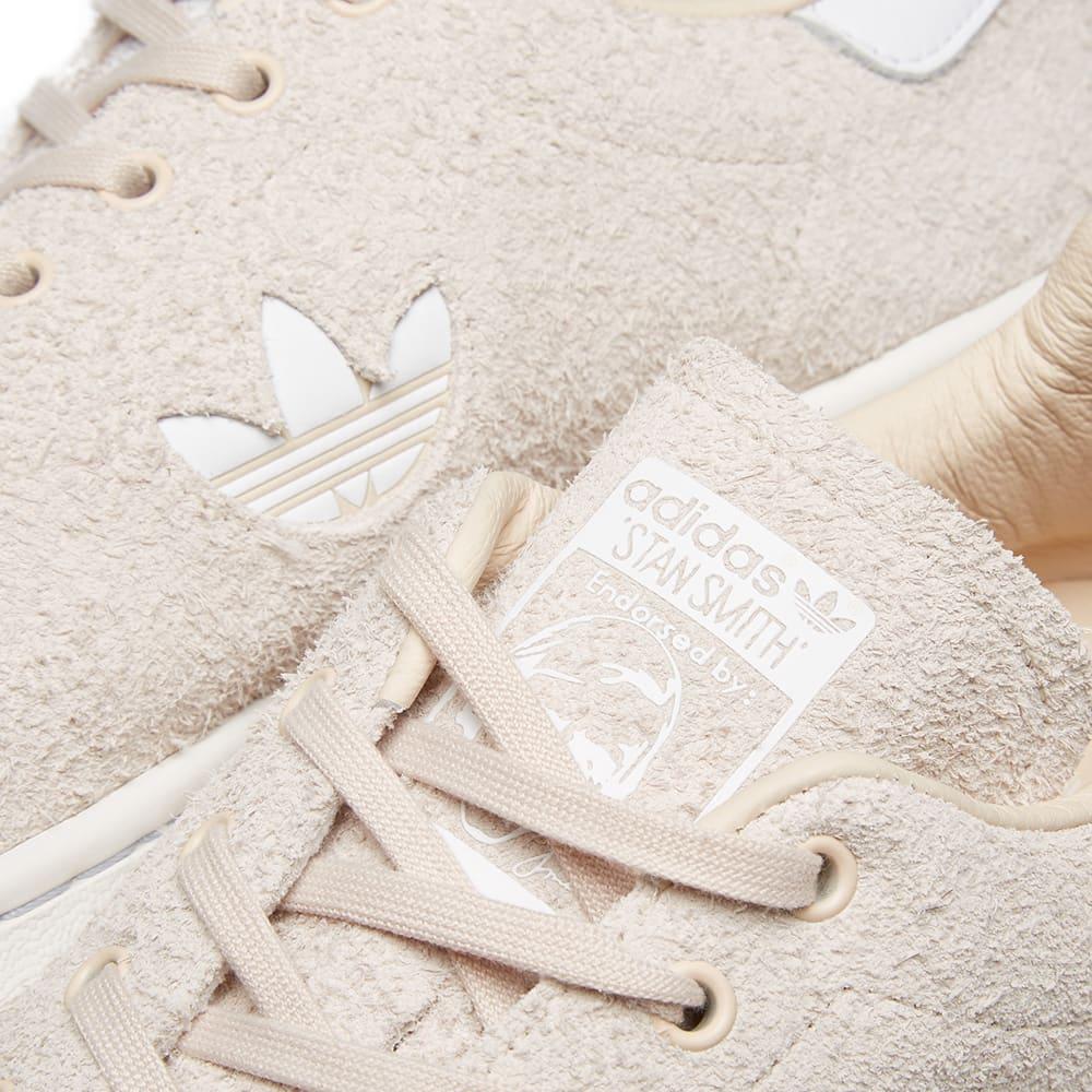 8361a5861e62c8 Adidas Stan Smith Premium Suede Linen & Crystal White   END.