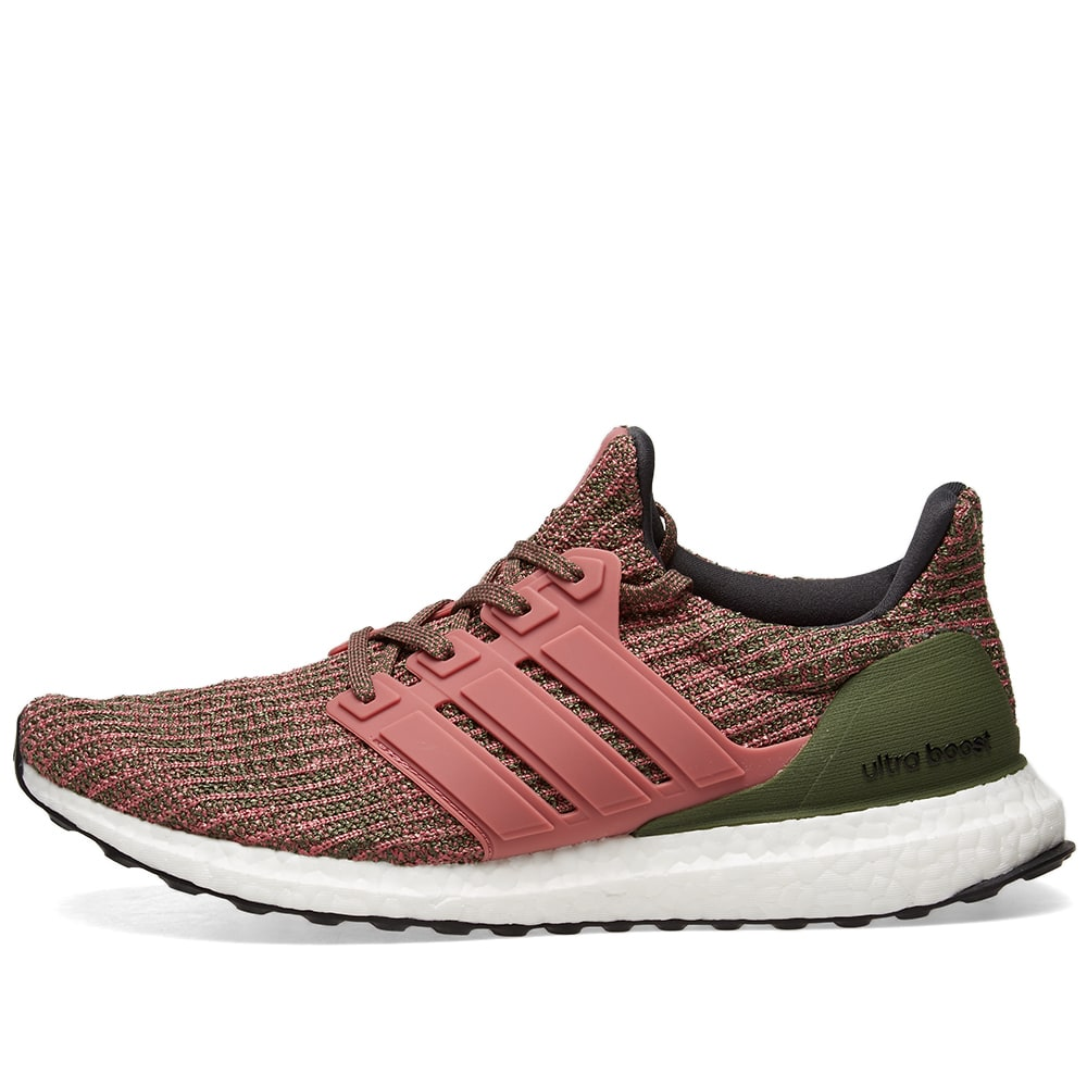 adidas ultra boost pink and green