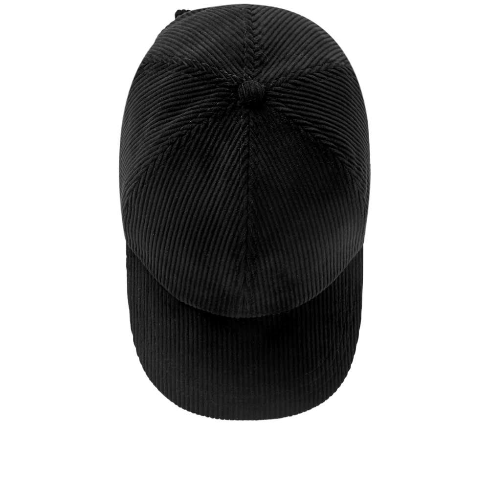 06262e9d19d Larose Paris Corduroy Baseball Cap Black