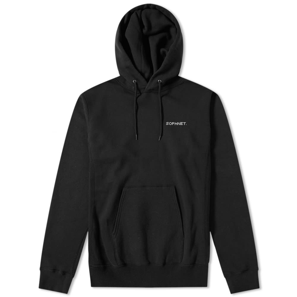 SOPHNET Sophnet. Authentic Logo Pullover Hoody in Black