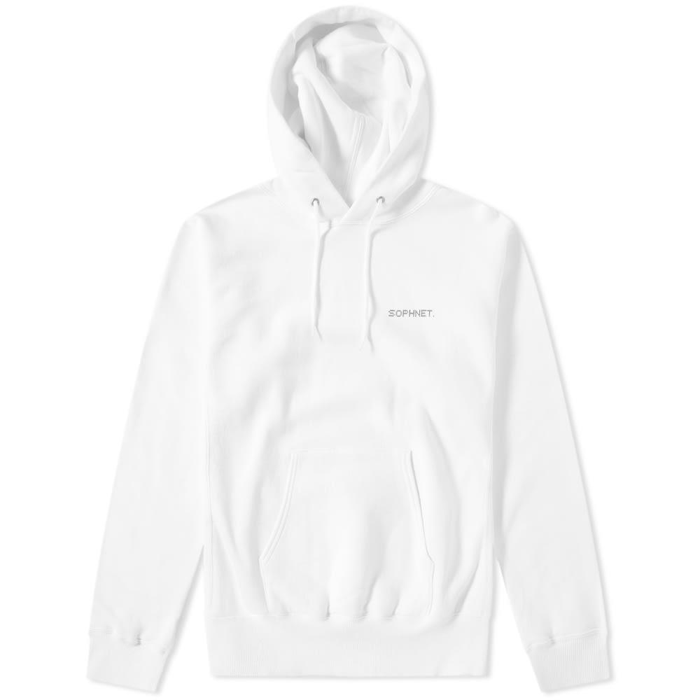 SOPHNET Sophnet. Authentic Logo Pullover Hoody in White