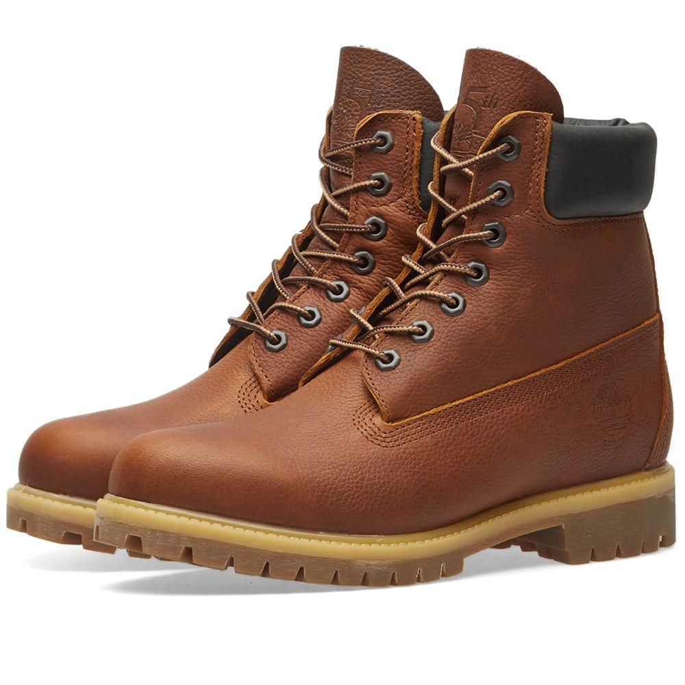 Timberland Heritage 6 Inch Premium Boots Medium Brown