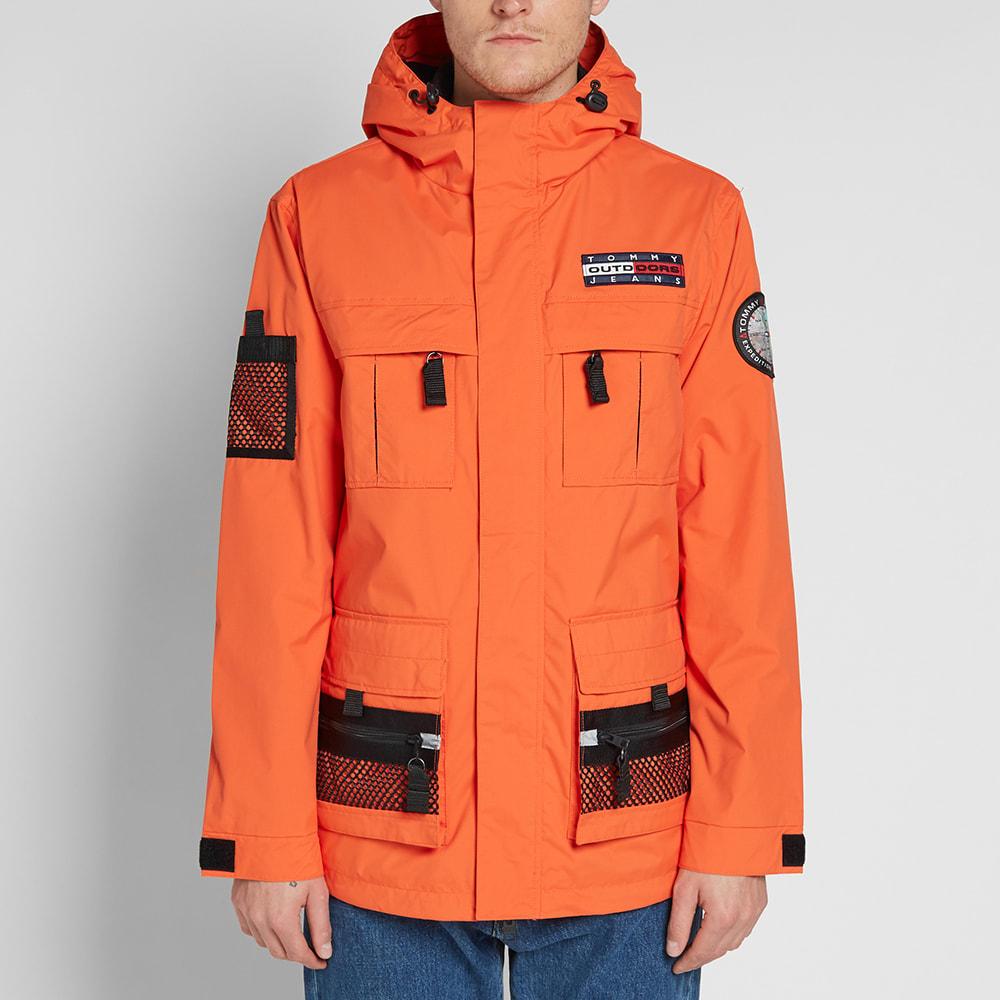c6ac1206 Tommy Jeans 6.0 Outdoors Jacket M8 Orangeade | END.