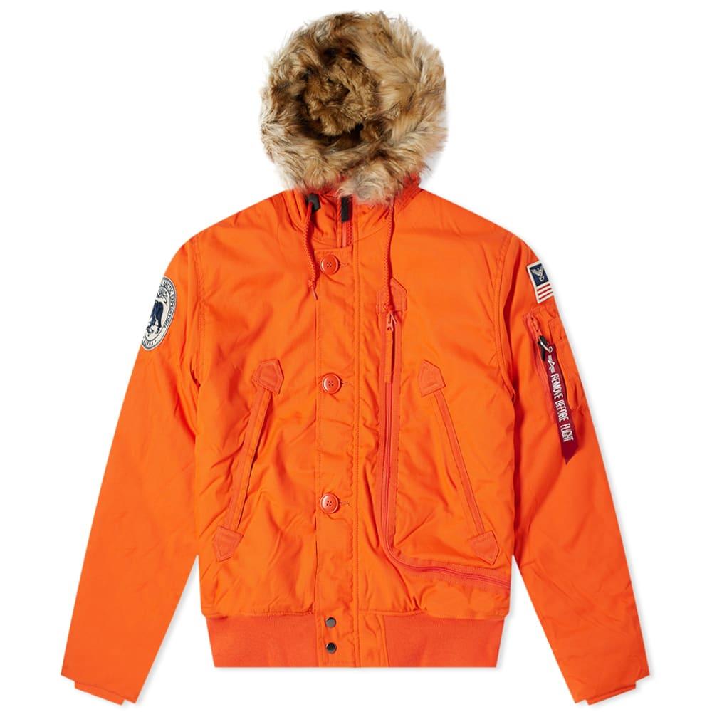 Alpha industries Polar Jacket Sv Winter Jacket Hooded Jacket Parka Coat New