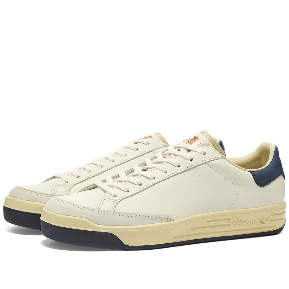 Adidas Rod Laver Aniline Core White
