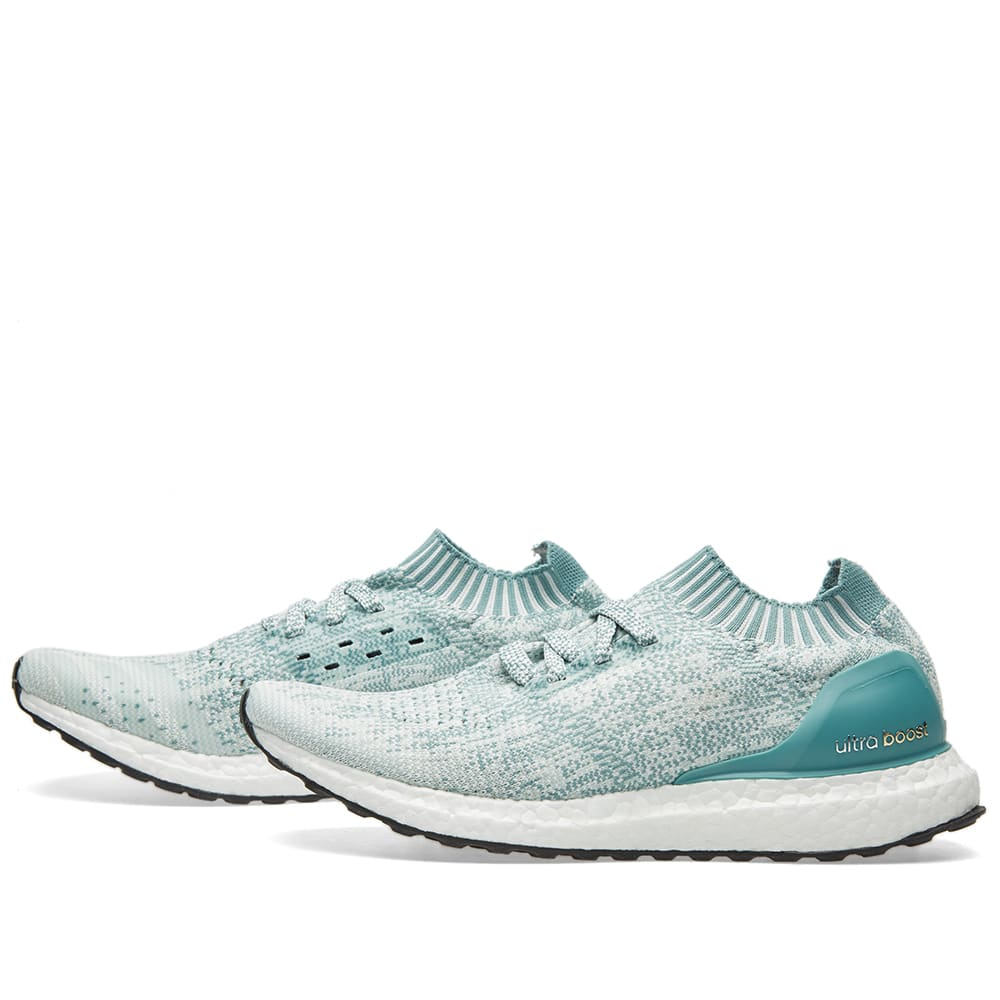 1de3f3f90dc Adidas Women s Ultra Boost Uncaged W Crystal White   Vapour Green