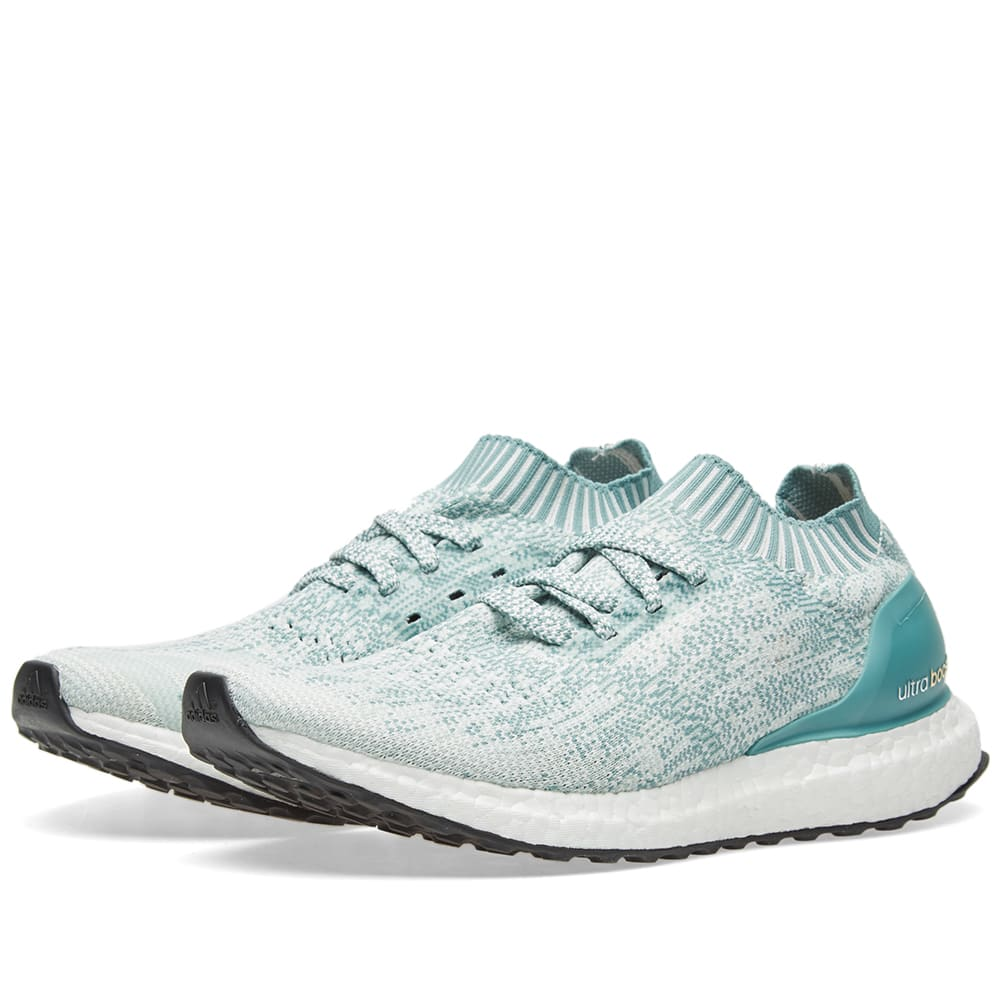 28551e37c Adidas Women s Ultra Boost Uncaged W Crystal White   Vapour Green