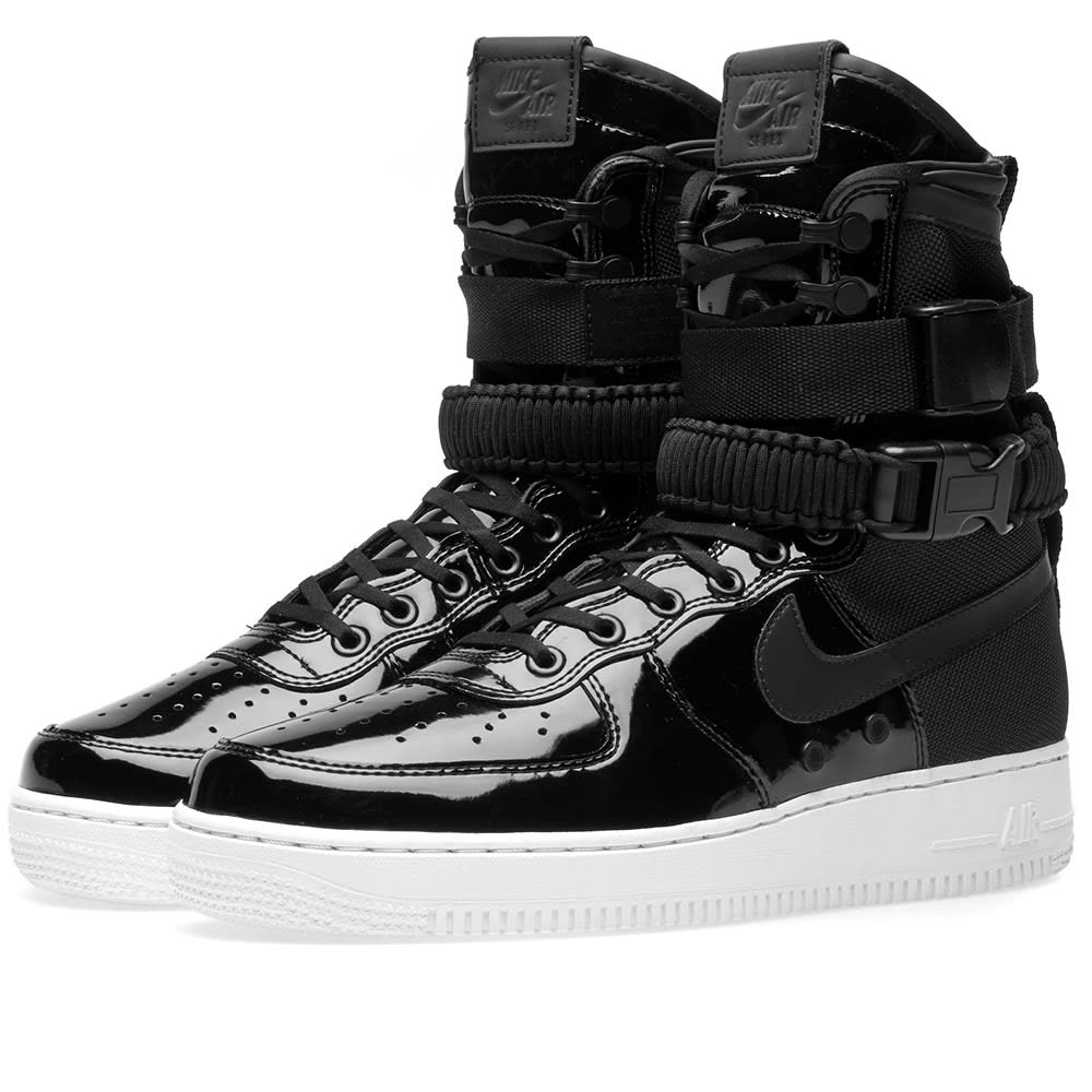 New Collection Women Nike SF Air Force 1 SE Premium W Black
