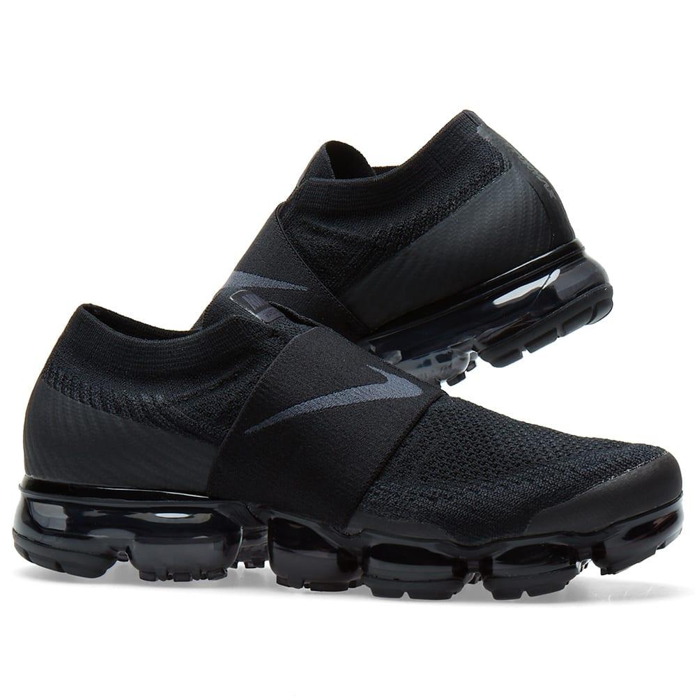 7cba75ec876c0 Nike Air VaporMax Flyknit Moc W Black   Anthracite