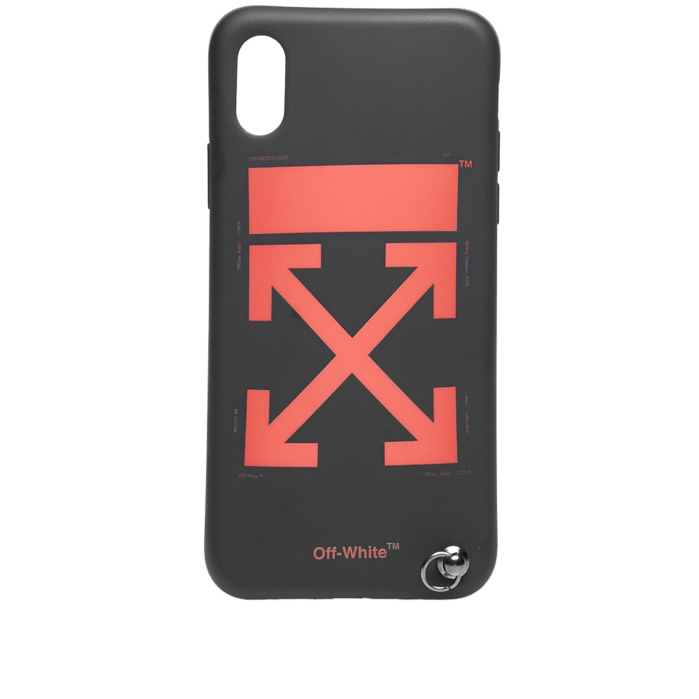 buy popular c415d f9a3a Off-White Arrow iPhone X Cover with Strap