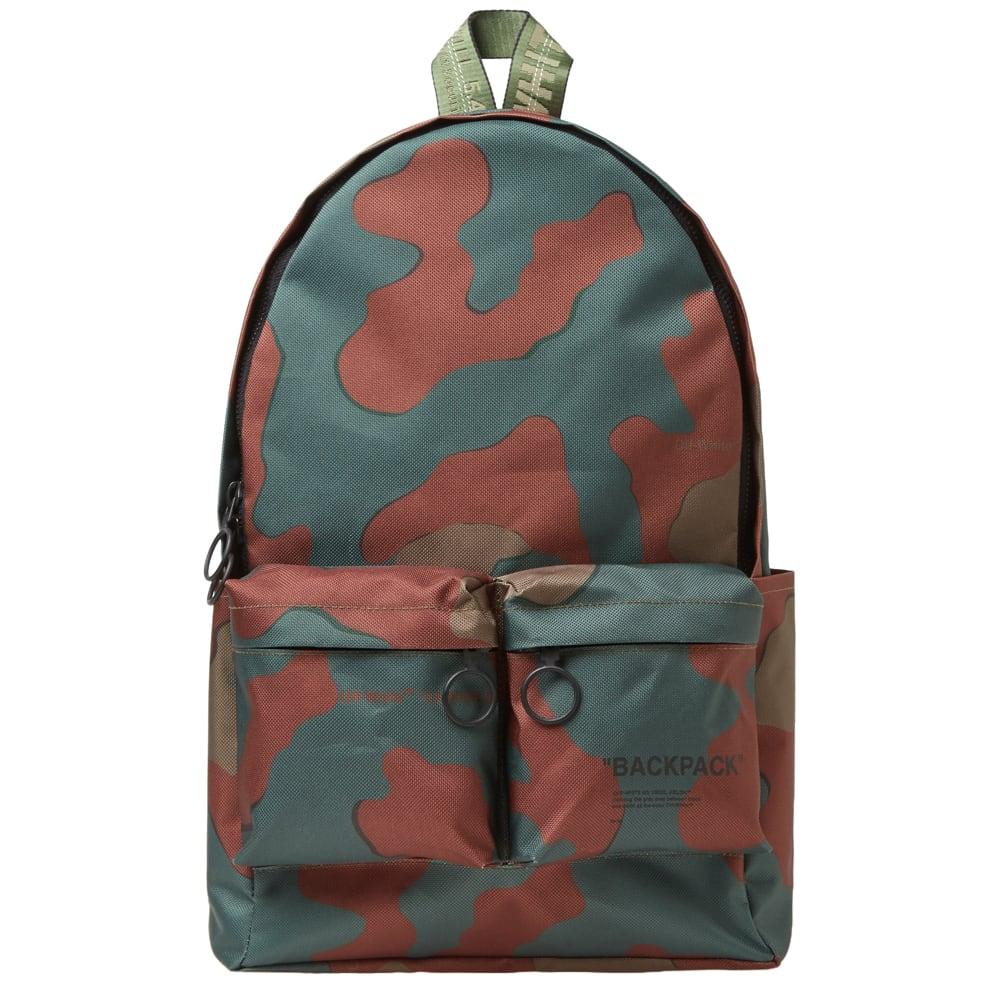 634920b16c31 Off-White Camo Nylon Backpack Camo | END.