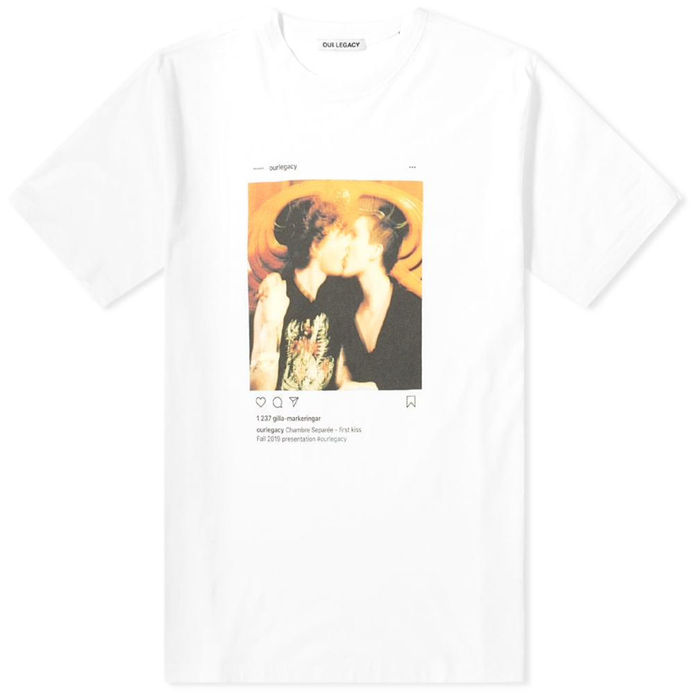 Our Legacy First Kiss Tee by Our Legacy