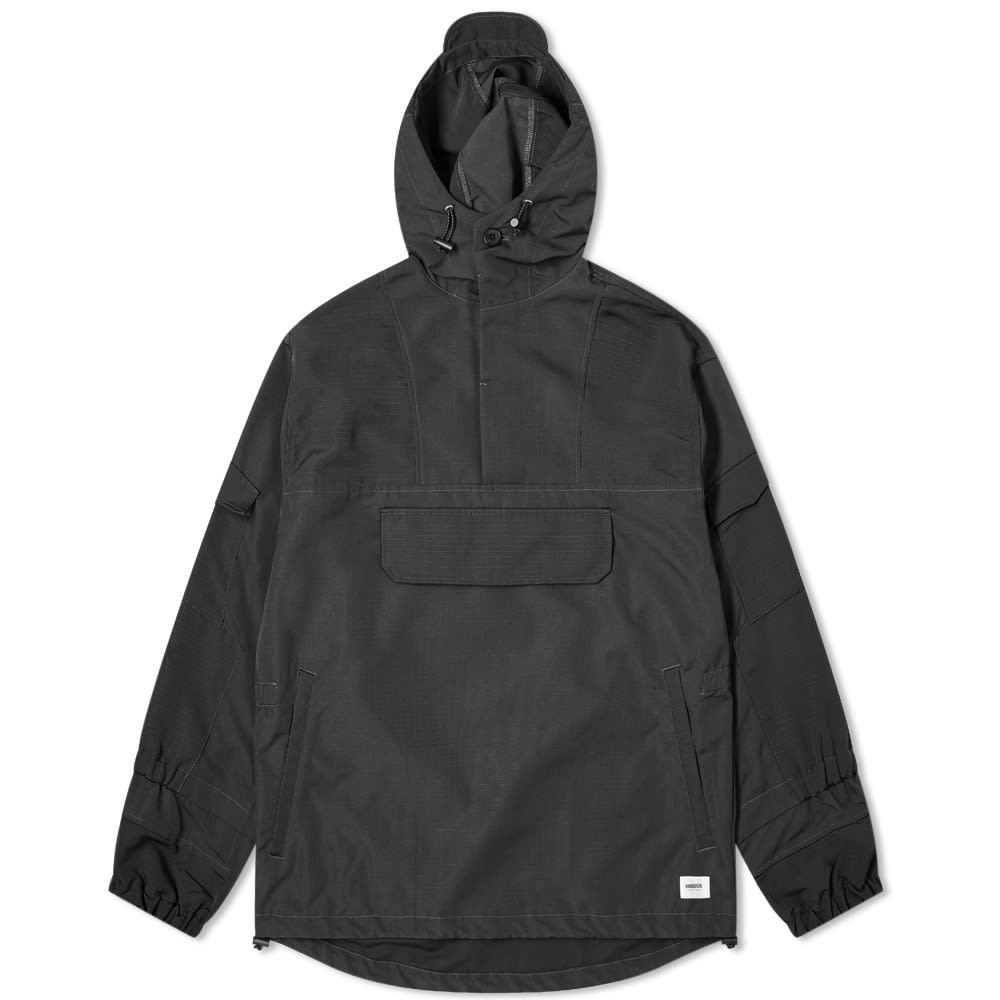 Vanquish Pullover Military Jacket In Black