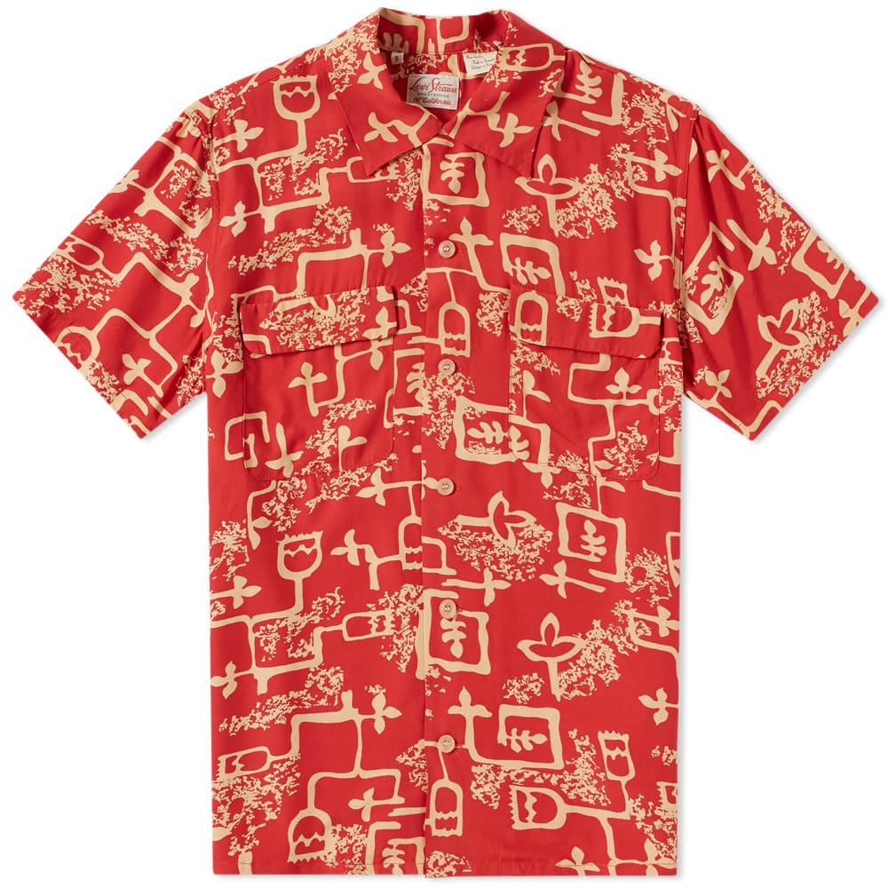 eec6cbb1 Levi's Vintage Clothing 1940s Hawaiian Shirt Lark Baked Apple | END.