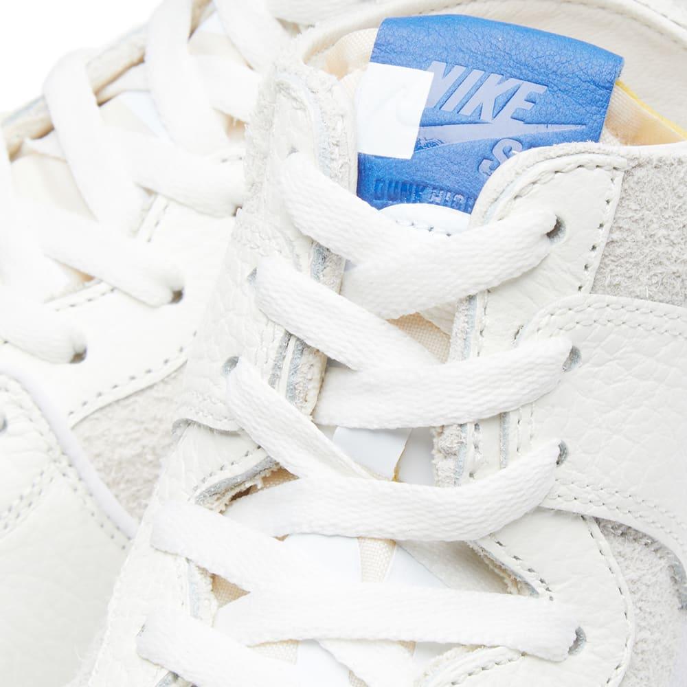 new style 3d0a3 d7c6a Nike x Soulland SB Zoom Dunk High Pro QS Cream, Beige, White   Blue   END.