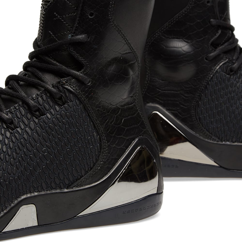 72aea1f033b1d Nike Kobe IX High KRM EXT QS 'Black Mamba'