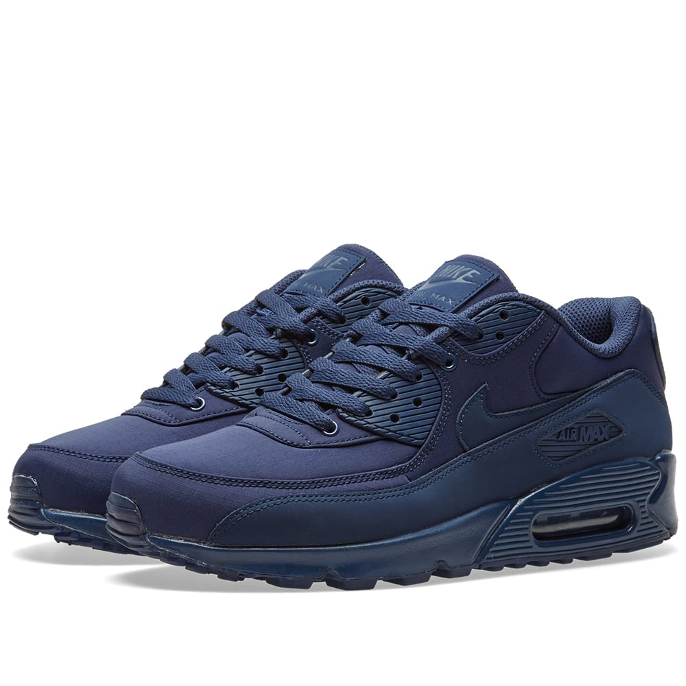 sports shoes 387fb 18dce Nike Air Max 90 Essential Midnight Navy   END.
