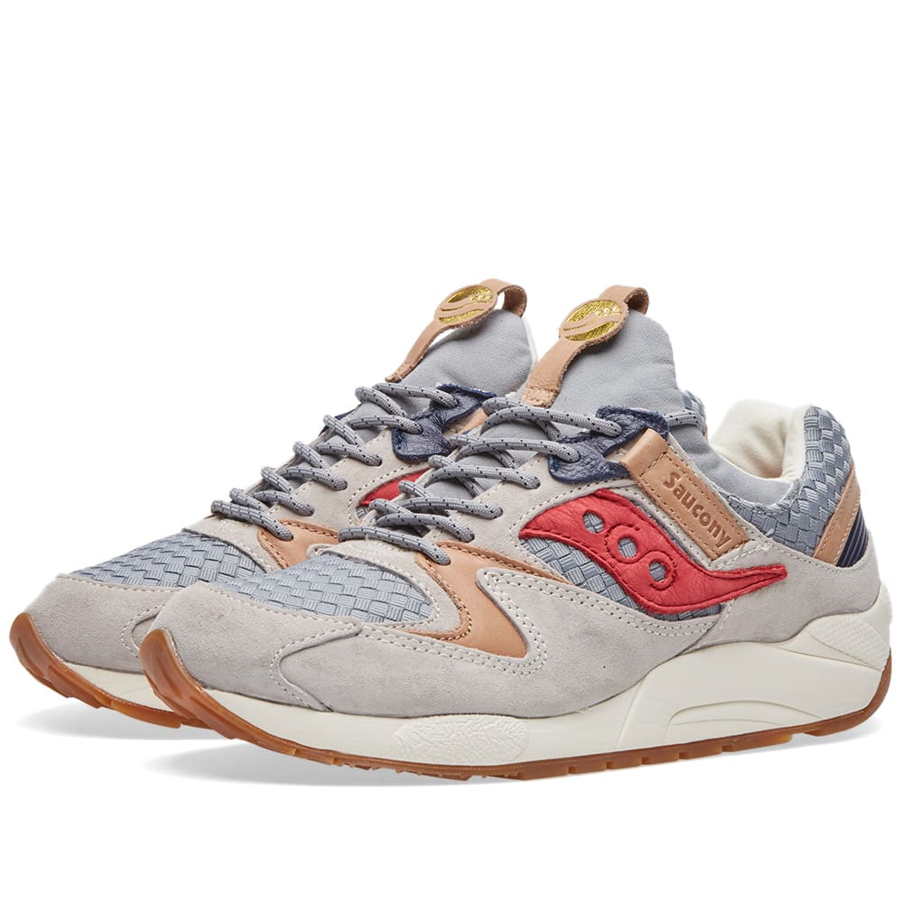 1e153e94 Saucony Grid 9000 'Liberty' Grey | END.