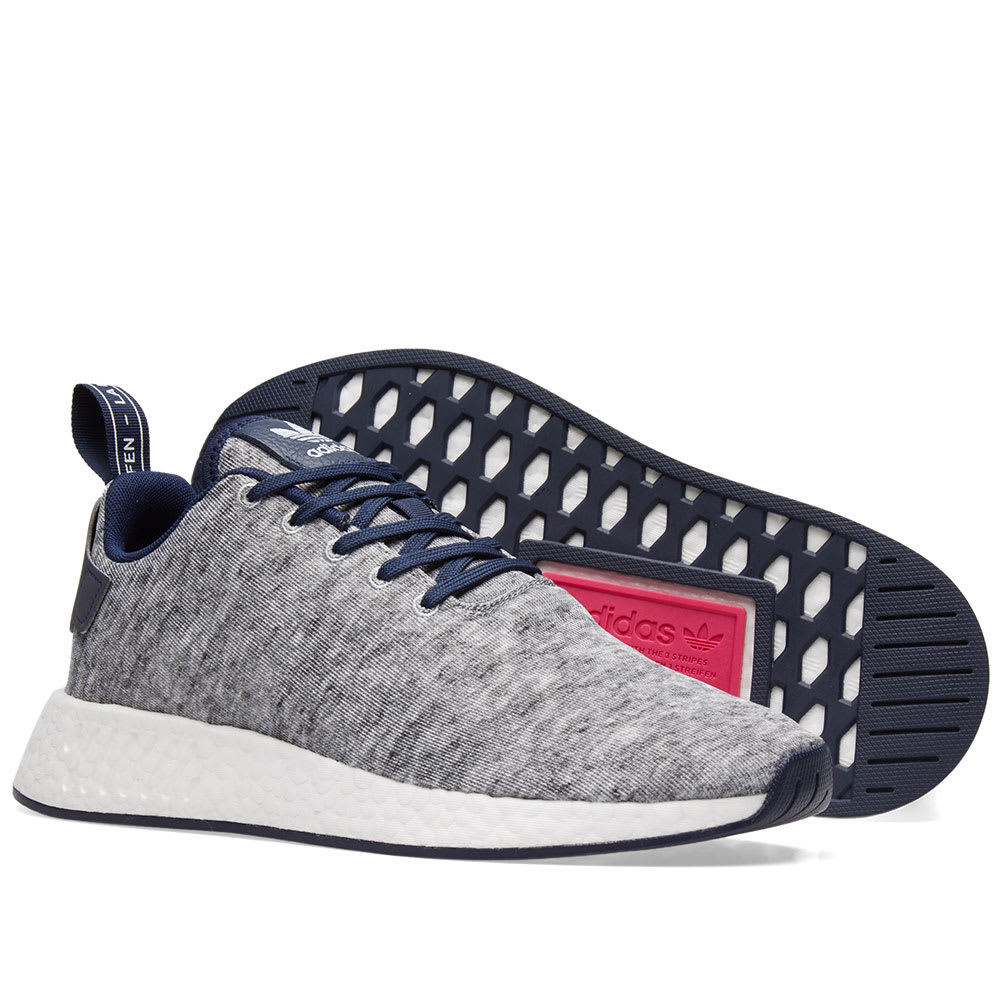 795a46794 Adidas x United Arrows   Sons NMD R2 Core Heather