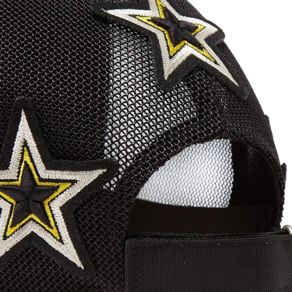 a3a306dc0e0 Givenchy Star Patches Logo Cap Black   Yellow