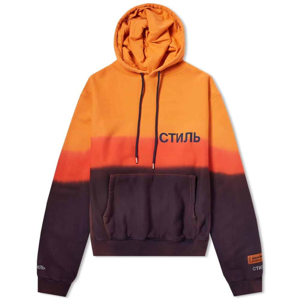 7236b9c7919c Heron Preston CTNMB Tie Dye Hoody Orange