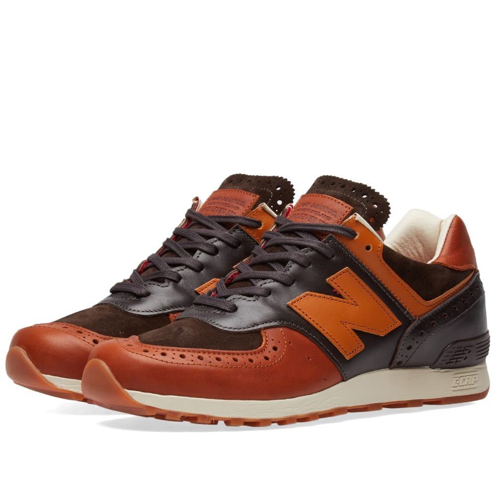 cheap for discount bbb09 b6c2a New Balance x Grenson M576GSN Tan   Off White   END.