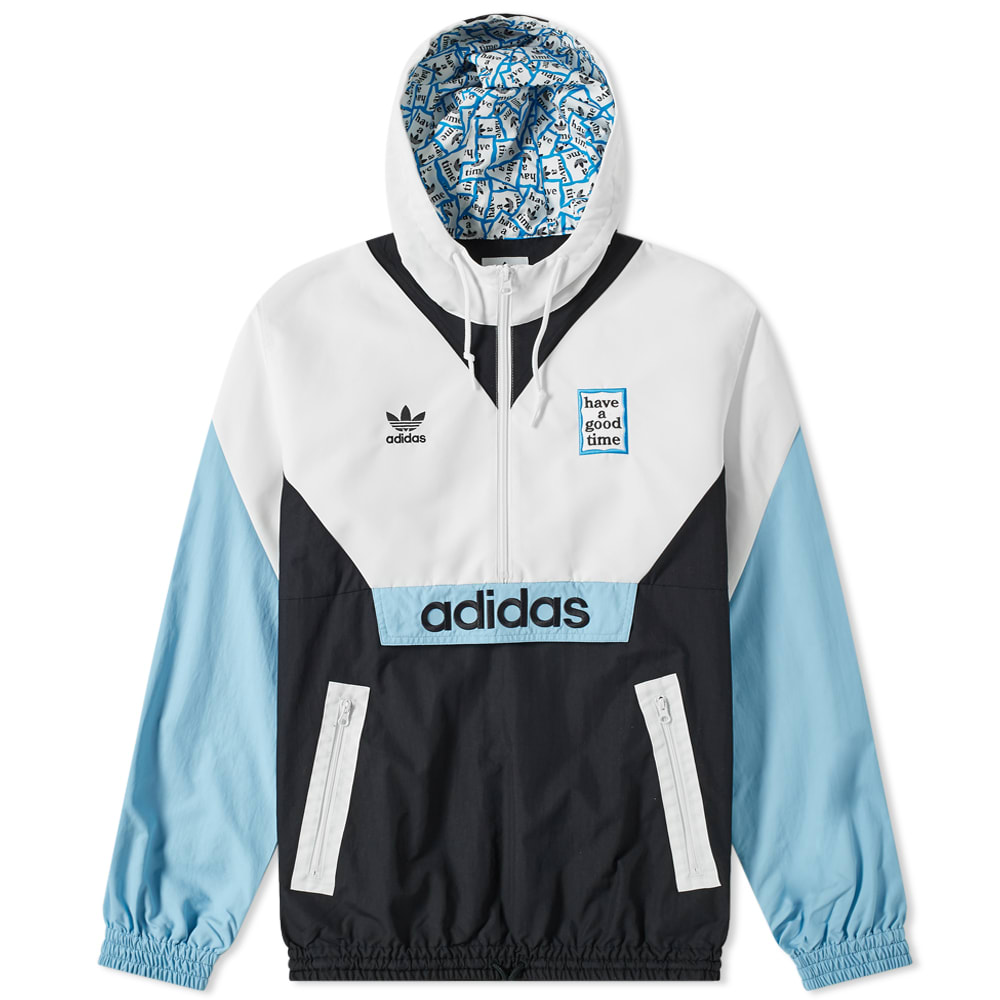 Have A Good Time X Adidas Pullover Windbreaker