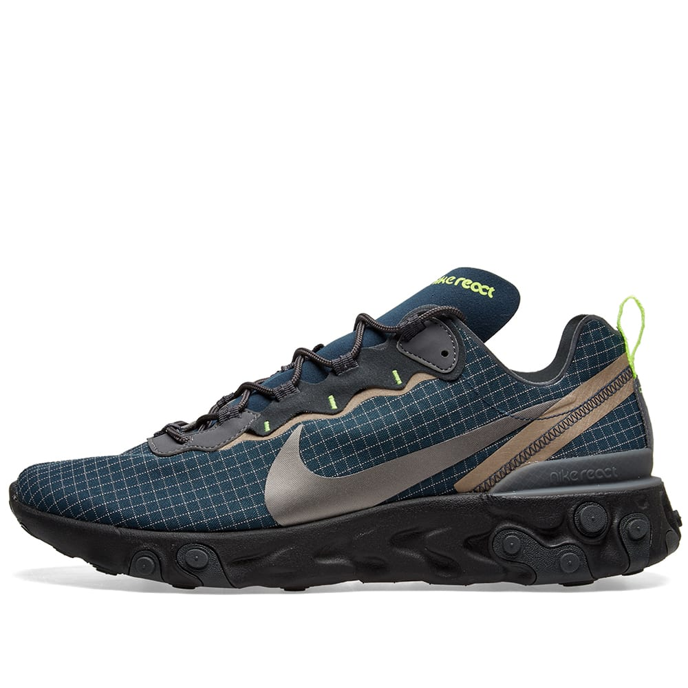 f13674e5314 Nike React Element 55  Ripstop  Navy