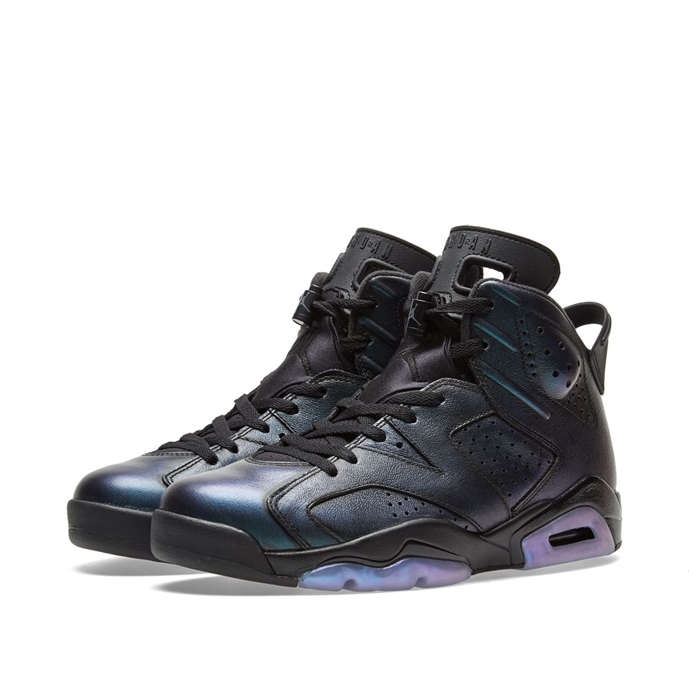 new products 1692c 00303 Air Jordan 6 Retro GS AS  Chameleon  Black   White   END.