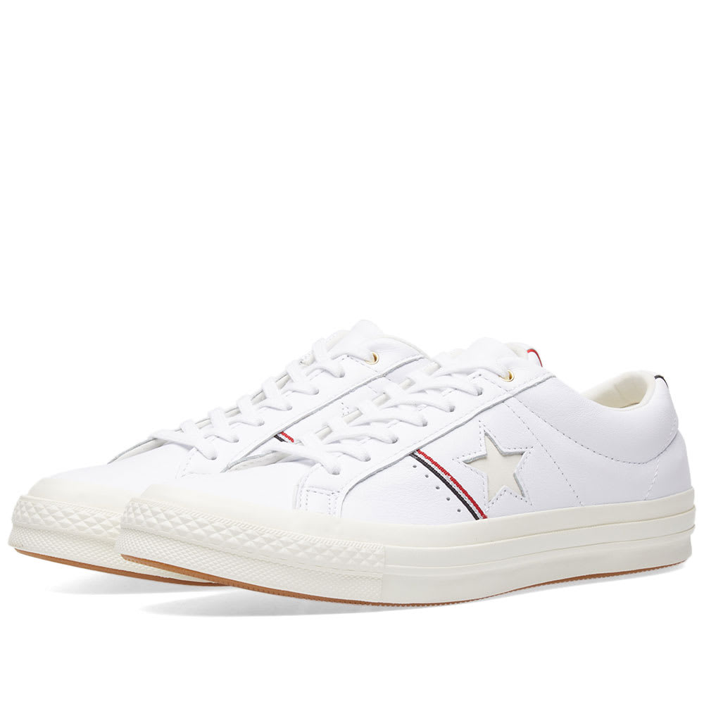 c756aed04d7996 Converse One Star Ox White