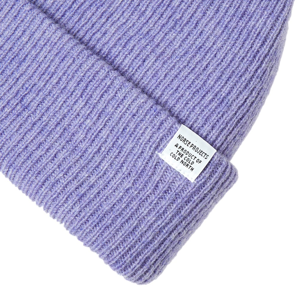 81a92b01739 Norse Projects Beanie Heather