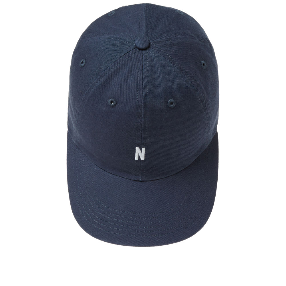 Norse Projects Light Twill Sports Cap In Blue  f7e70b3c8fd