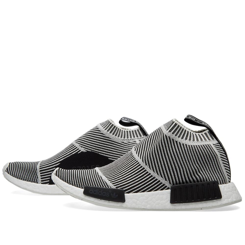 7383584c0 Adidas NMD City Sock PrimeKnit Core Black   Vintage White