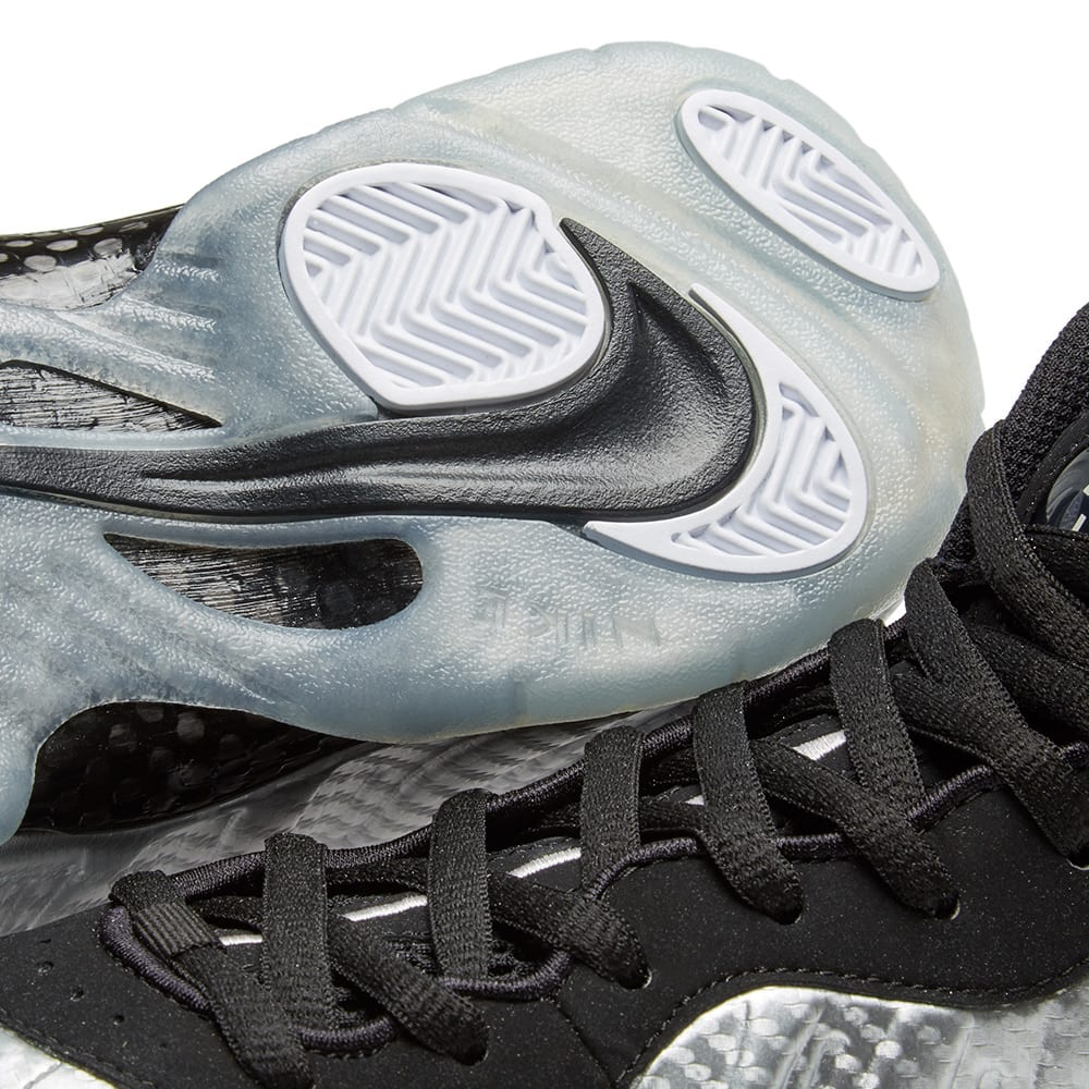 reputable site c125e f1d6f Nike Air Foamposite Pro Metallic Silver & Black   END.