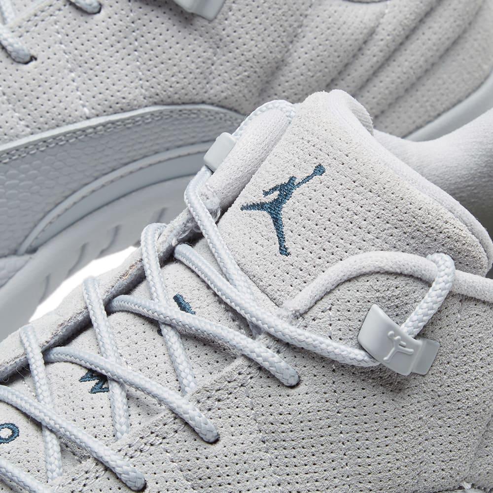 best sneakers 7dd69 2954d Nike Air Jordan 12 Retro Low Wolf Grey, Navy   Electrolime   END.
