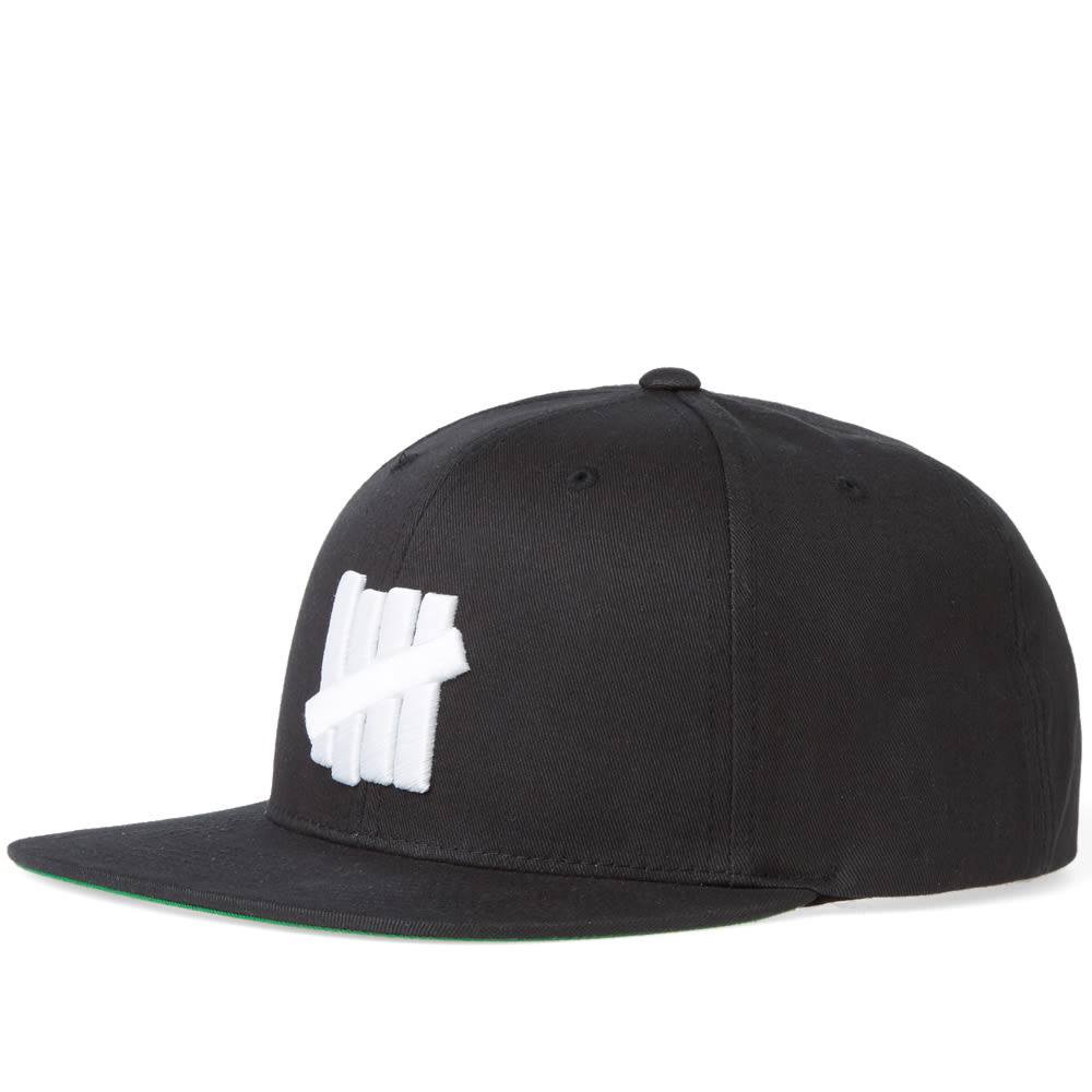 148893268541d Undefeated 5 Strike Snapback Cap Black