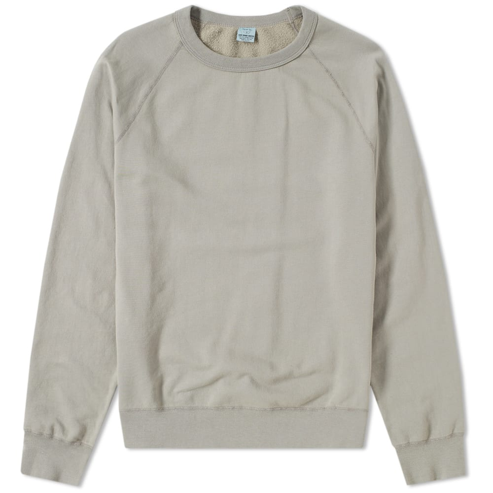 SAVE KHAKI SUPIMA FLEECE CREW SWEAT