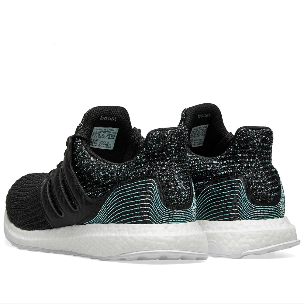 best sneakers 98fae ac022 Adidas Ultra Boost Parley Core Black End