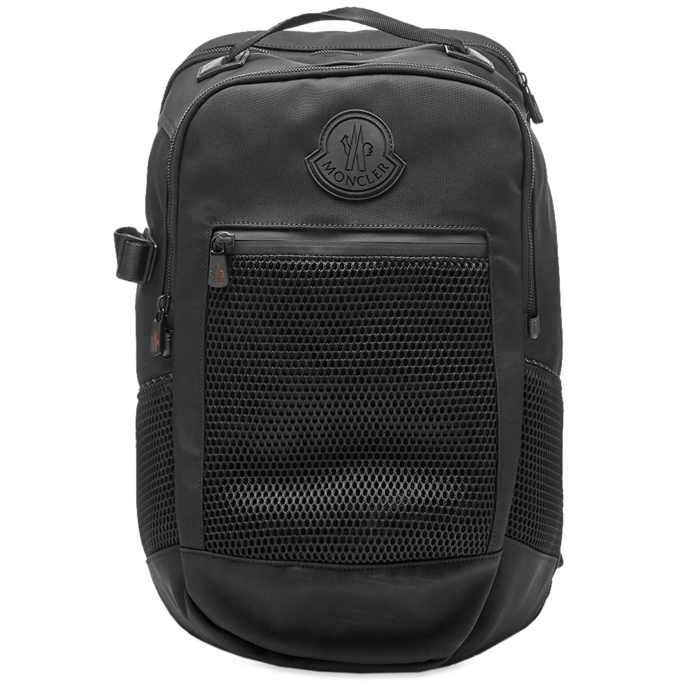 Moncler Canvas & Mesh Hiking Backpack