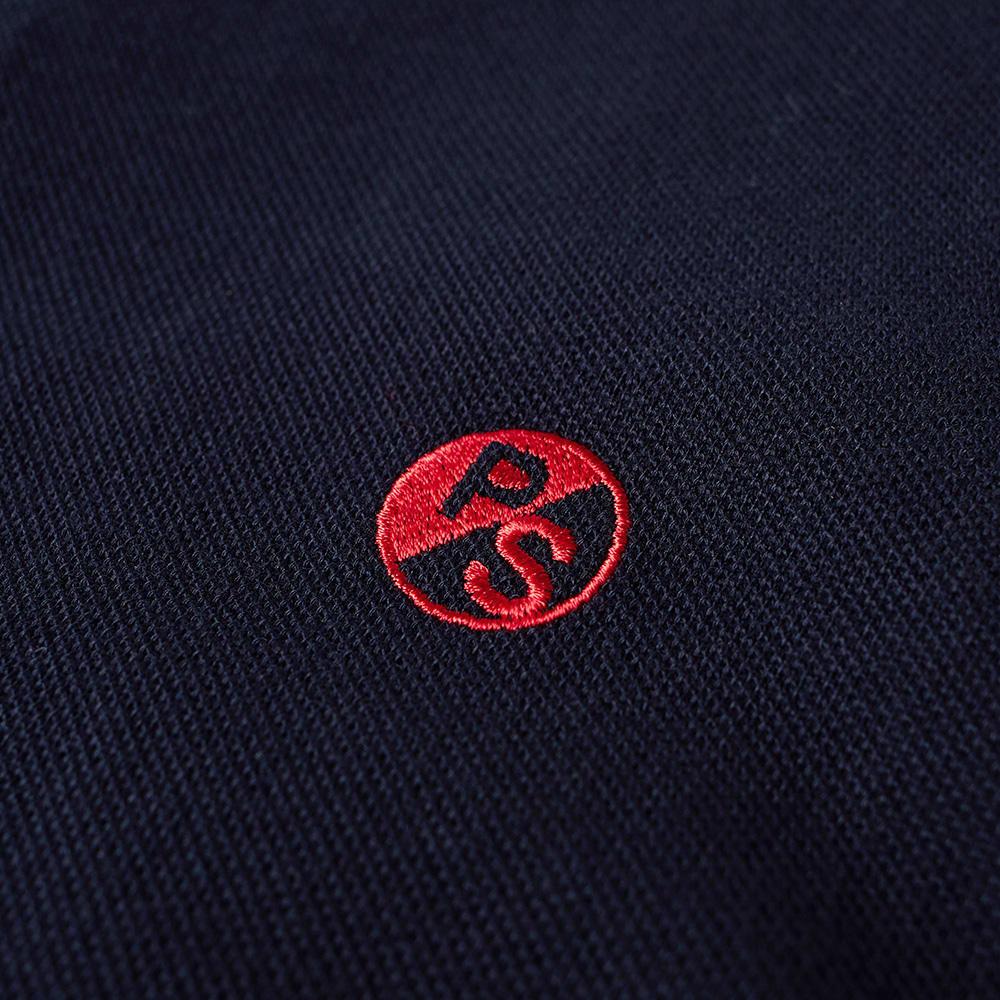 Paul Smith Pill Logo Polo (Navy & Red)