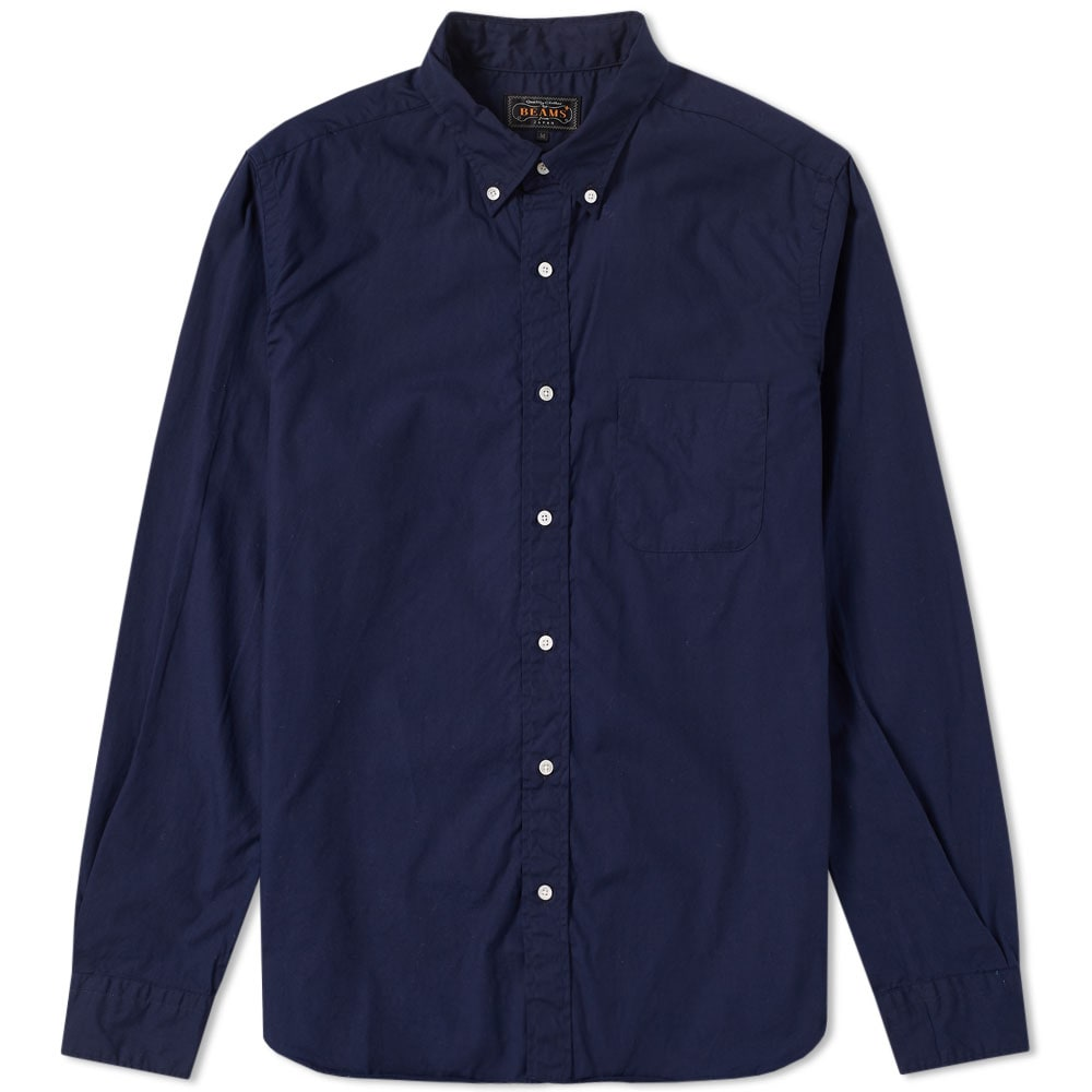 BEAMS PLUS BUTTON DOWN BROADCLOTH SHIRT