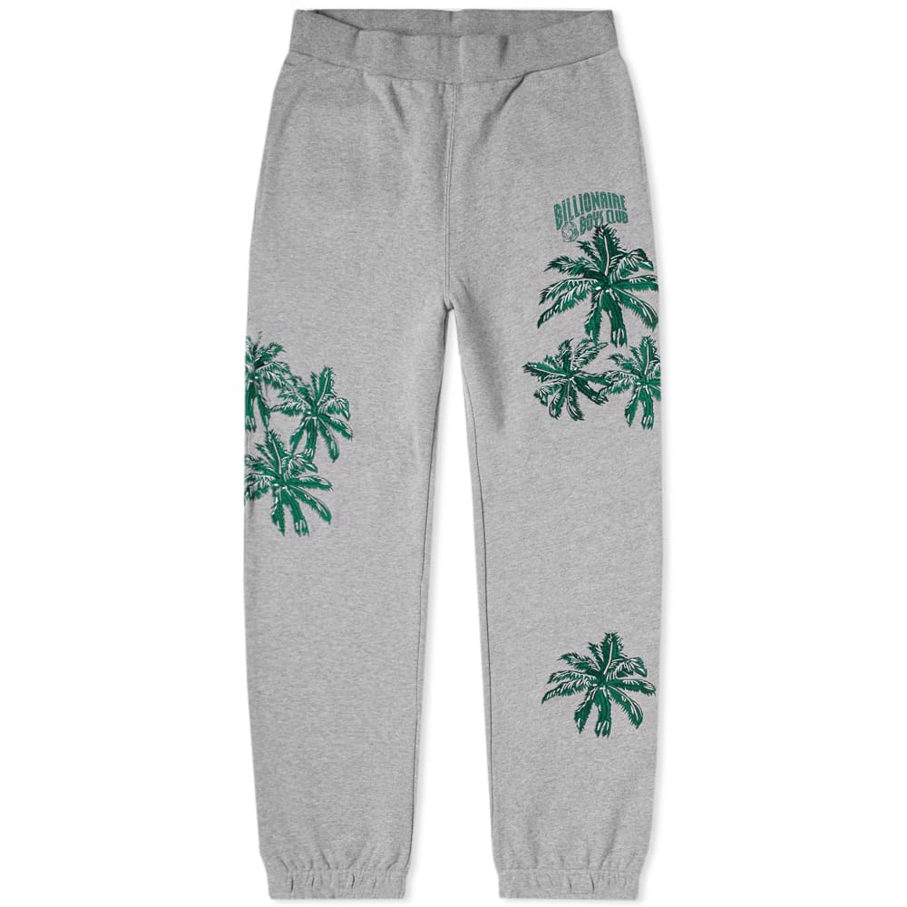 Billionaire Boys Club Palm Embroidered Sweat Pant Heather Grey thumbnail